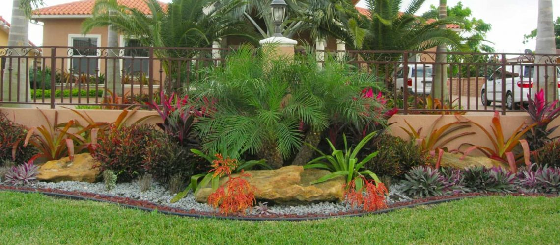 Landscaping With Rocks in Florida